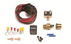 painless performance fan thom ii electric fan relay kits 30103 free on orders over 99 at summit racing
