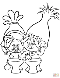 Small Picture Dj Suki Poppy from Trolls coloring page Free Printable