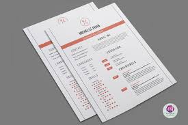 2 Page Resume Template Clean Design By Chic Templates