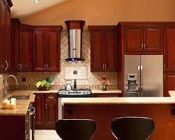 Kitchen  Stylish And Cool Gray Kitchen Cabinets For Your Home - Dark brown kitchen cabinets