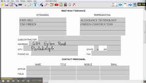 Bid Form For Construction Obrien Construction Bid Form Demo Youtube