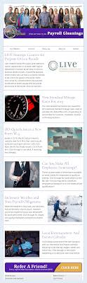 Examples Of Company Newsletters Examples From Our Clients The Payroll Department Email