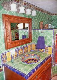 Mexican Bathroom bathroom using mexican tiles by kristiblackdesigns kristi 2025 by guidejewelry.us