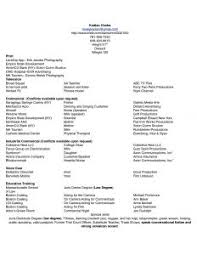 Acting Resume Template Download Acting Resume Template Diamond Sample Actor Advice Tips