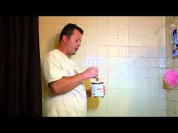how to paint tile in a bathroom