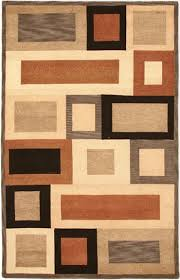 sweet looking brown and tan brown and tan area rug unique area rugs
