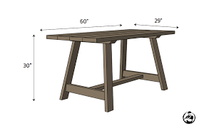 double angle dining table rogue engineer