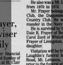 Dale Frayer Pittsburgh Post Gazette From Pittsburgh Pennsylvania On February 1