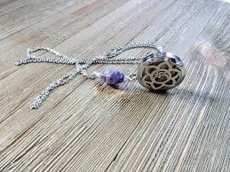 amethyst essential oil jewelry aromatherapy necklace oil diffuser jewelry aromatherapy necklace