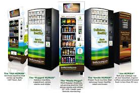 Healthy Choices Vending Machines Classy Healthy School Lunches