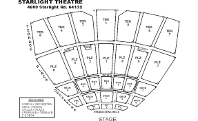 Starlight Theater Seating Chart Starlight Kc Seating Related Keywords Suggestions