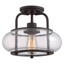 beautiful coastal ceiling lights 4 vintage semi flush ceiling light in old bronze with