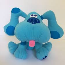 mailbox blues clues plush. Tyco BLUES CLUES Plush Toy Dog Doll Stuffed Animal 8\ Mailbox Blues Clues
