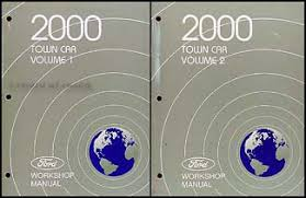 2000 lincoln town car original wiring diagrams 2000 lincoln town car repair shop manual set original 119 00