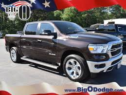 New 2019 Ram 1500 BIG HORN / LONE STAR CREW CAB 4X2 5'7 BOX Rugged Brown Pearlcoat For Sale/Lease | Greenville SC | Serving Spartanburg, Greer, ...