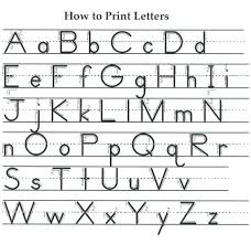 Handwriting Chart Print Proper Letter Formation Chart Google Search Kindergarten