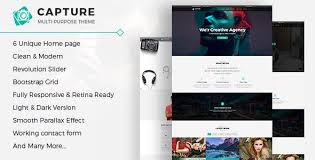 Html Website Templates Mesmerizing Camera HTML Website Templates From ThemeForest