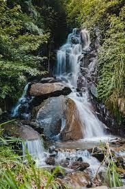 taiwan, wulai district, waterfall ...