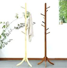 clothes stand wooden wood coat hanger stand oak wooden coat rack stand wood hook coat rack