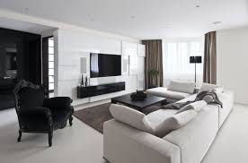 Monochrome Living Room Decorating Decorating With Chocolate Leather Furniture Perfect Decorating