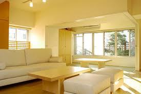 Yellow Living Room Design Beautiful White Yellow Modern Living Room Design With Window