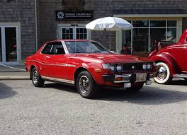 1975 Toyota Celica GT Unrestored in Red Paint & Engine Sound on My ...
