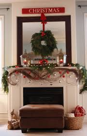 Fairy Lights For Mantle 50 Christmas Mantles For Some Serious Decorating Inspiration