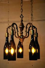 good recycled chandelier or recycled antique chandelier using wine bottles 98 recycled water bottle chandelier