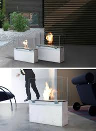 warm up your life with these  freestanding fireplace designs