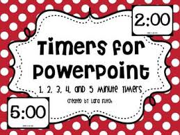 5 Minute Powerpoint Timer Timers For Powerpoint 1 5 Minute Timers
