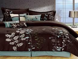 blue and brown comforter sets queen elegant cream and brown bedding blue and brown paisley forters