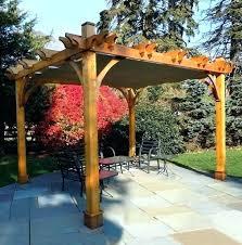 retractable canopy kit custom pergola canopy retractable diy