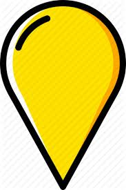 Pins Locations 2 Yellow By Smashicons