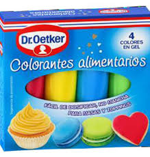 Comprar Colorantes Dr Oetker Alim 4 Colores 4 Uni Postres Y