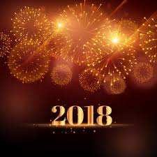 New Year Backgrounds Happy New Year Fireworks Background For 2018 Download Free Vector