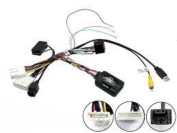 Ctsns014 2 nissan frontier navara steering control stalk adaptor phone button support