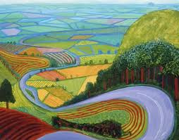 David Hockney has been here for several years now and continues to be very  important: