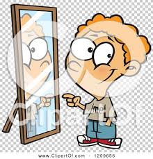 child looking in mirror clipart. pin reflection clipart miror #1 child looking in mirror t