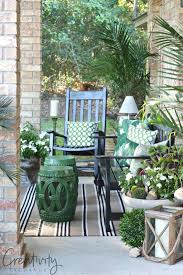 front porch refresh and tips for fluffing the creativity exchange