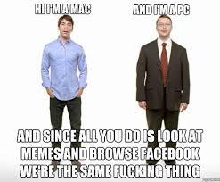 Mac Pc Meme | WeKnowMemes via Relatably.com