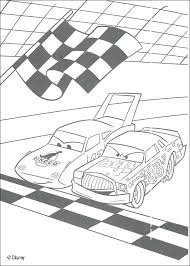 disney pixar cars coloring pages to print mater and a police car racing between hicks coloring pages disney cars
