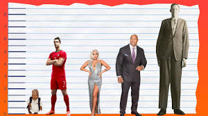 Height Difference Chart How Tall Is Cristiano Ronaldo Height Comparison Youtube