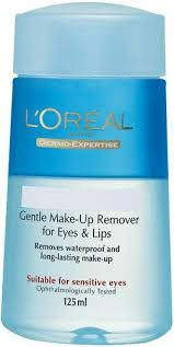 l oréal paris gentle eye lips make up remover 125ml