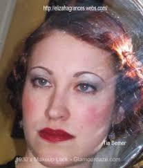 1930s makeup look tia semer glamourdaze