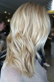 Light Baby Blonde Highlights With A