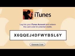itunes gift card codes generator