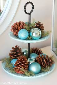 Decorating with Blue and Silver Christmas Ornaments