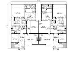 country creek duplex home plan 055d 0865 house plans and two family home designs