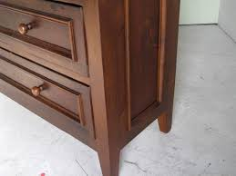 custom made antique style bedroom dresser from old pine