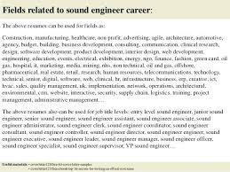 Audio Resume Audiovisual Technician Cover Letter Dew Drops